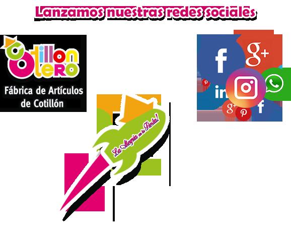 Cotillon Otero | LANZA SUS REDES SOCIALES
